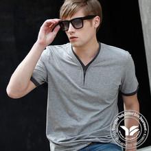 200 grams manufacturing men popular summer black t shirt