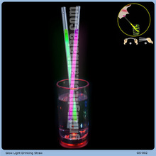 economic plastic drinking straw changing color in hotcold water