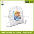 2015 New Products Custom Fashionable Canvas Drawstring Bag