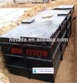 mbr mbr sistema de máquina de coser paquete de plantas de tratamiento para los balnearios del pacífico en el tratamiento de aguas residuales del sistema
