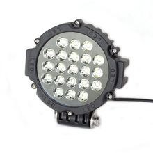 Hot sale LED Work Light auto part 63W truck led offroad tuning light