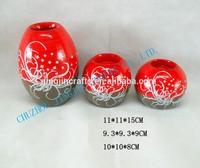 home decor piercing ceramic vase,ceramic porcelain vase modern pierced design,promotional home decoration flower vase ceramic