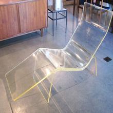 fashionable clear acrylic swivel chair