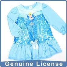 Niños pijamas de franela de algodón de las muchachas pijama de raso
