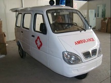 175CC cheap three wheel ambulance manufacturer motorcycle ambulance tricycle factory electric car with trailer with CCC