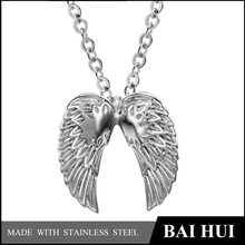 Stainless Steel Pendant,Gothic Jewelry,Wholesale Angel Wings