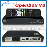 Dvb-s2 satellite receiver Open box V8S HD with uk 3pin plugs