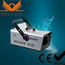 Professional 5L 1200W SN-1200 snow making machine for sale