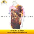 printed hot sale 100% cotton sublimated men tshirts