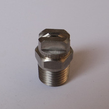 Stainless Steel Flat Spray Nozzles 1/4""