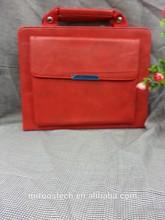 hot selling genuine leather shoulder bag for ipad mini