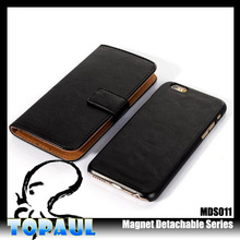 China supplier universal pu leather mobile mobile phone case cover for apple iphone6