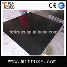 Aluminum frame stage plywood platform stage