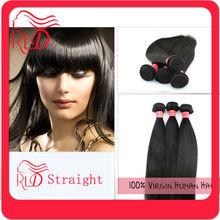 High quality useful brazilian virgin hair straight wave