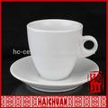 Napoli regalo collezione 100cc iper caffè in porcellana bianca tazza e piattino insieme di mosca
