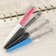 Custom liquid pen with custom 2D floater,floating liquid pen for promotion gift