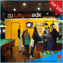 2015 China new product sell used amusement park 7d cinema kino video game