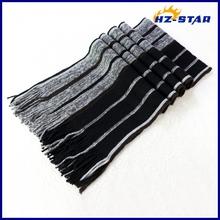 HZW-12015018 new design simple free fashion magic headwear 100 wool pashmina shawl