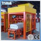 QTJ4-25A hollow block making machine,manual concrete block moulding machine