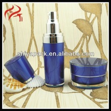 New Style Lotion Pump Classic Beauty Comestic Personal Care Round Acrylic Cream Bottle