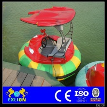 Low investment with high income amusement park electric water bumper boat