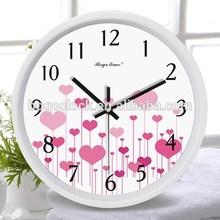 Prettyt Decorative Plastic Wall Clock For Kitchen