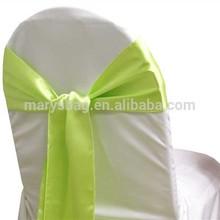 Chair Sash (Satin) - Apple Green