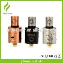 plume veil mod herb electronic pen 1:1 plume veil clone rda plume veil 1.5