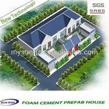 SGS TESTING Prefab fast installation container house /prefab villa