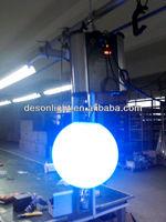 DMX 512 input output led lift ball light weight lift table for bar