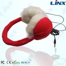 professional factory Earmuff headphones,winter warm headphones