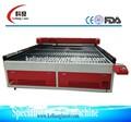 Kl-1212 100w co2 laser máquina de corte para corte de tecido