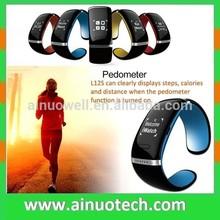Bluetooth Sport Bracelet Smart cheapest wrist watch phone for iPhone 5