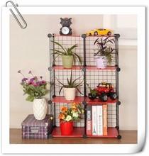 büyük kapasiteli köşe kabine tarzı ikea için metal raflar çiçek