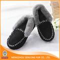 un precio más bajo de invierno negro de las mujeres zapatos casuales