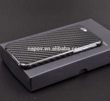 OEM stylish black for iphone 6 carbon fiber cover