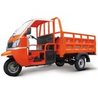 Hot Sale bottom price gasoline motor tricycles with cabin