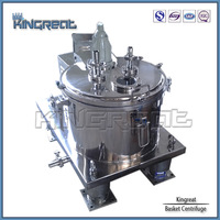 GMP standard lab portable perforate basket centrifuge machine