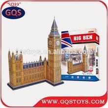116PCS 3D London Big Ben jigsaw puzzle