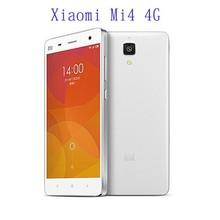 Xiaomi Mi4 4G FDD-LTE Smart Phone Qualcomm Snapdragon 8X74AC 801 Quad Core 3GB RAM 16GB ROM Dual Camera 13.0MP