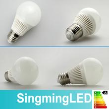 2 years warranty 5w 7w 9w e27 e14 low heat no uv led light bulb
