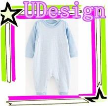China cheap baby boys romper long sleeve romper yarn dyed romper