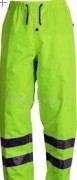 high visibility used reflective work pants