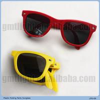 super bright popular insert metal sunglasses