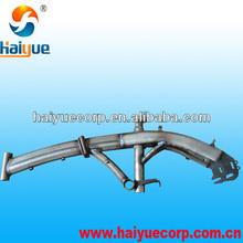 steel folding bike frame, factory