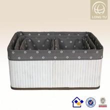 hand-woven wicker wheeled international storage baskets and bins