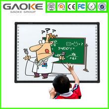 Interactive doigt écran tactile tableau blanc tableau d'écriture verte Chalk conseil pour enfants