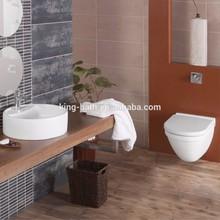 Ceramic Sanitary Ware Bathroom Sets , Ceramic hanging Bathroom toilet ,wall ceramic toilet,