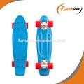 Oem de plástico tablas de skate longboard cruiser barato