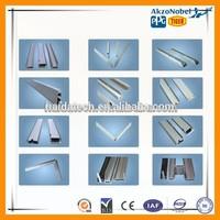 6063 T5 aluminum extrusion frame for pv solar module